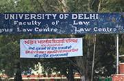 BCI to shut down evening law classes in DU: ABVP seeks HRD intervention
