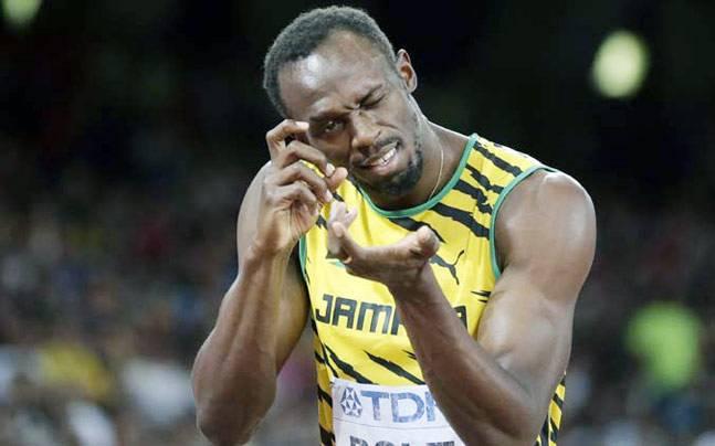 Jamaican sprinter Usain Bolt.