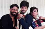 Actors Yash and Radhika get engaged in Goa