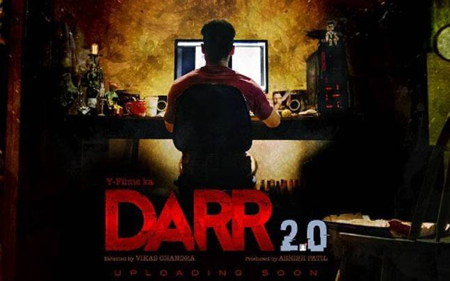 The first poster of Darr 2.0. Picture courtesy: Instagram/ Y Films
