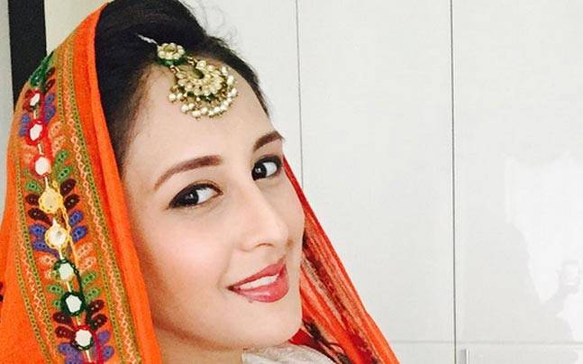 The Qubool Hai actress delivered a baby girl on September 9. Picture courtesy: chahattkhannamirza