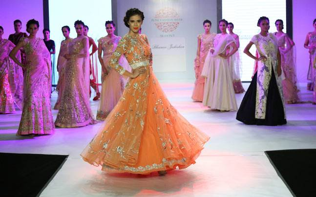 An image from the fifth edition of the Pune Fashion Week. Picture courtesy: www.punefashionweek.com