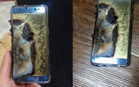 Florida man sues Samsung, says Galaxy Note 7 exploded