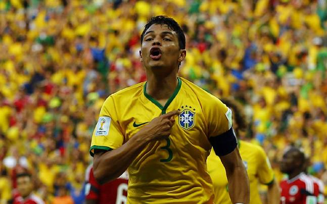Image result for Silva has helped Brazil to the last eight
