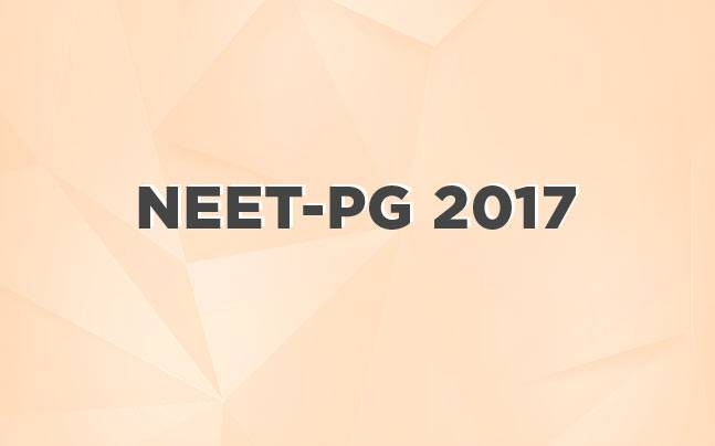 NEET PG 2017 exam dates released at nbe.gov.in