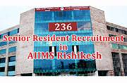 AIIMS invites applications for various Senior Resident posts