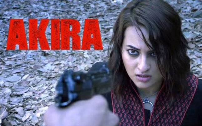 Sonakshi Sinha in a still from Akira