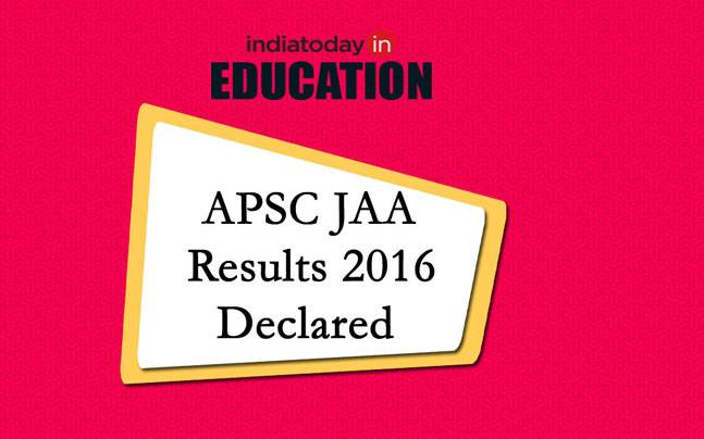 APSC JAA results 2016 dclared