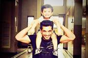 Cuteness alert! Arjun Bijlani is chilling with these little munchkins in Goa