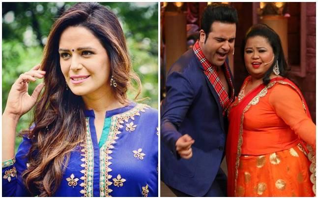 From horror to comedy: Kawach actress Mona Singh has previously co-hosted Entertainment Ke Liye Kuch Bhi Karega with Krushna Abhishek.