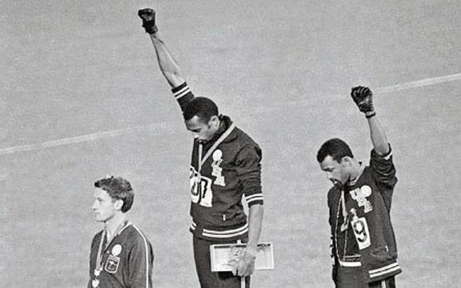 John Carlos and Tomie Smith