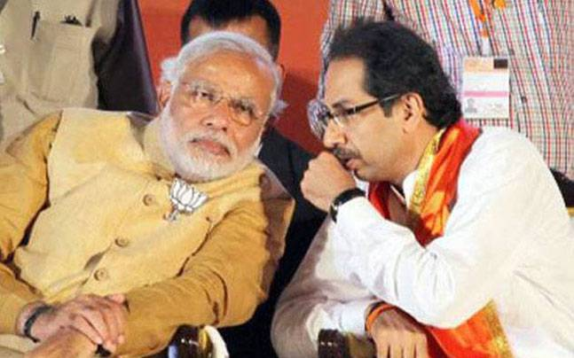 Modi and Uddhav Thackeray