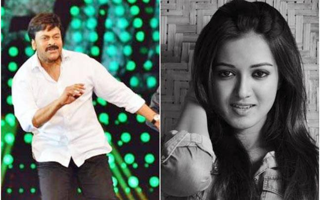 Actor Catherine Tresa will shake a leg with Chiranjeevi