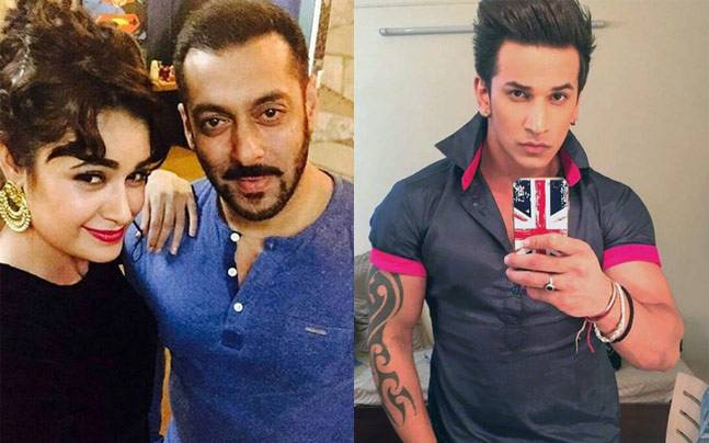 The duo is back to sizzle on the small screen again. Picture courtesy: Instagram/yuvikachaudhary; Instagram/princenarula
