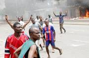 Congo anti-government march turns violent in capital, 17 dead