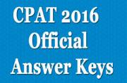CPAT 2016: Official answer keys to be out tomorrow at cpatup2016.org