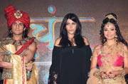 Ekta Kapoor promotes her upcoming show with