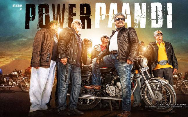 Dhanush makes his directorial debut with Power Paandi