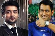 MS Dhoni: After Rajinikanth, Suriya is my favourite actor