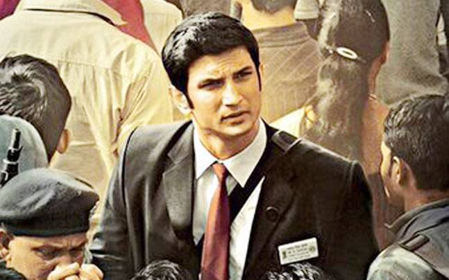 Sushant Singh Rajput in a still from MS Dhoni: The Untold Story