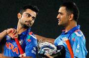 Hair-raising battle between India's cricket captains