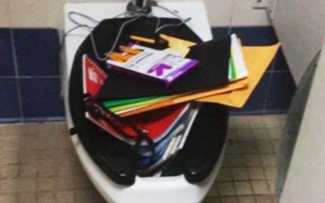 Bullies Dump Deaf Student's Backpack In Toilet