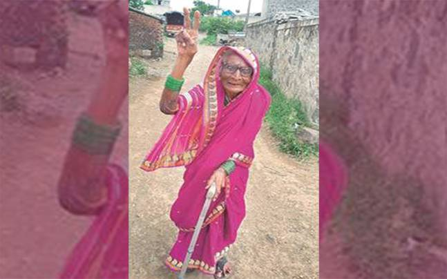 94-Year-Old Sarpanch