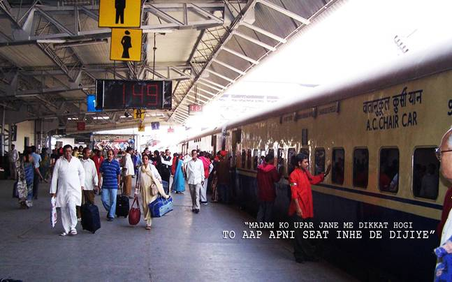 Upper hand on lower berth: Man asked to give up seat for