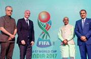 Official emblem for U-17 football World Cup launched