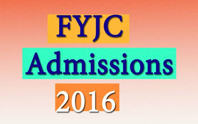FYJC Admissions 2016: Fourth round to be held today