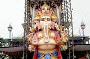 Ganesh Chaturthi: 58-feet Ganpati major attraction in Hyderabad