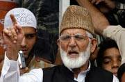 Kashmir unrest: Geelani thanks Pakistan, China for its support as JK govt disallows his press conference