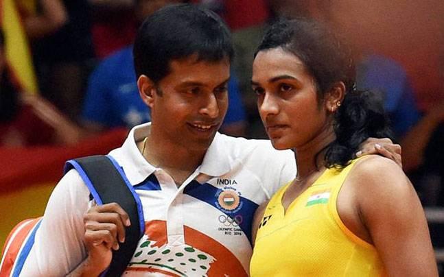Pullela Gopichand and PV Sindhu