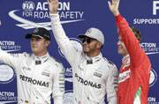 Italian Grand Prix: Lewis Hamilton on pole for third year in a row at Monza