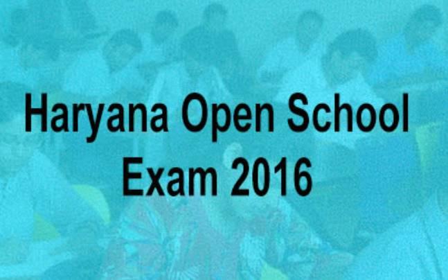 Haryana Open School Class 10, 12 exam 2016 admit cards released at
