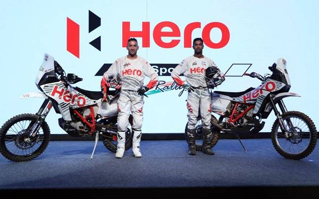 CS Santosh, Joaquim Rodrigues gear-up for Dakar 2017