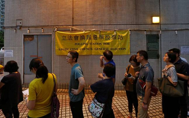 Hong Kong voters