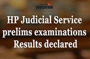 HP Judicial Service prelims examinations: Results declared at www.hp.gov.in/HPPSC