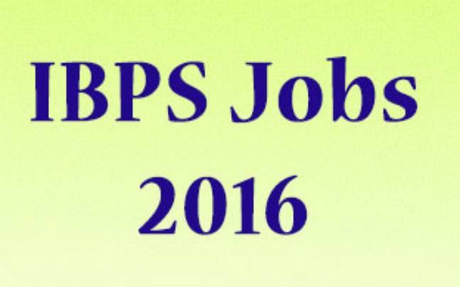 IBPS Jobs 2016