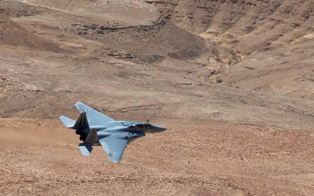 Israeli F-15 fighter jet