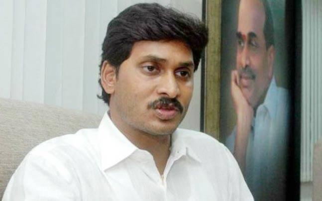 YSR Congress party chief YS Jaganmohan Reddy