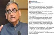 Justice Markandey Katju tells how Indian justice system is flawed