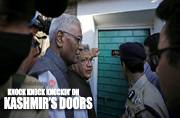 When the joke is on Hurriyat: Knock knock, who's there? Unanswered Kashmiri doors