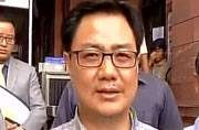 RSS the most patriotic organisation in India, says Kiren Rijiju
