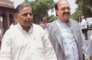 SP leaders blame 'outsider' Amar Singh for pushing party to brink of collapse