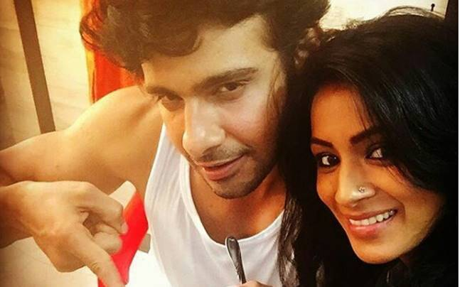 Viraf Phiroz Patel and Barkha Bisht. Picture courtesy: Instagram/naamkarann_official