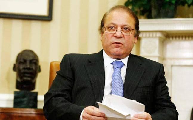 Pakistan's Prime Minister Nawaz Sharif