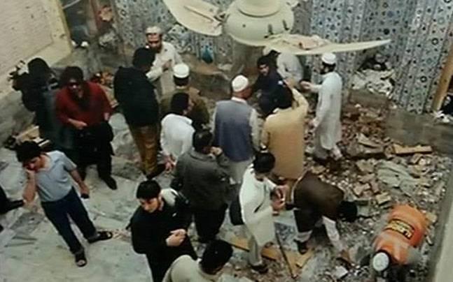 Blast in Pakistan Mosque
