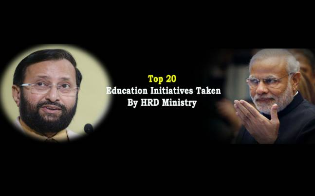 Prakash Javadekar: Top 20 education initiatives taken by the minister so far