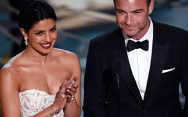 Priyanka Chopra presenting at the Oscars. Picture courtesy: Instagram/priyanka